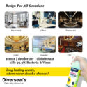 Diverseal's Deodorizer & Disinfectant Air Freshener Spray with Essential Oil